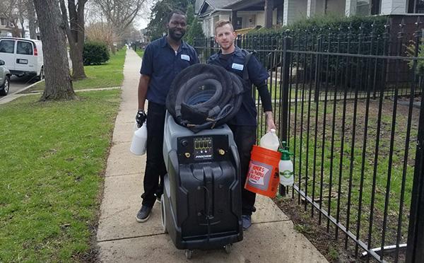 Chicago Carpet Care Team